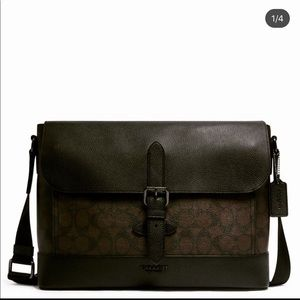 COACH, Hudson Messenger (New With Tags)